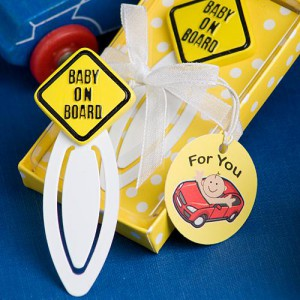 Baby On Board Bookmark Favors