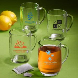 10 OZ. GLASS MUG