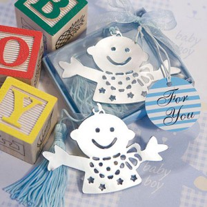 bookmark baby favors