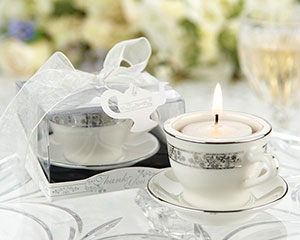 tealight wedding favors