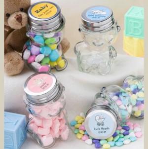baby favor jars