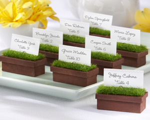 place card holder baby favors