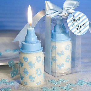 blue baby favors