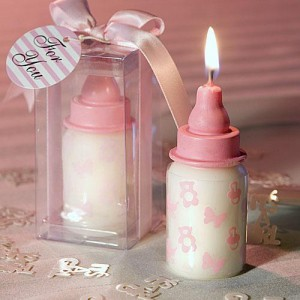 pink baby favors