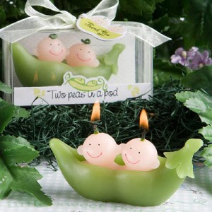 candle baby favors