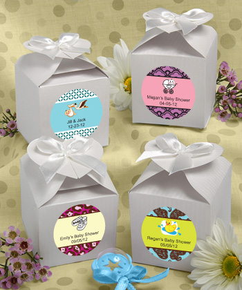 baby favor boxes baby shower favor ideas for unisex showers babyfavors