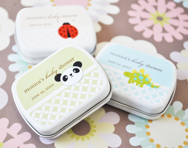 BABY ANIMALS PERSONALIZED MINT TINS