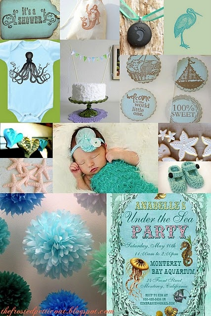 Under The Sea Theme Baby Shower