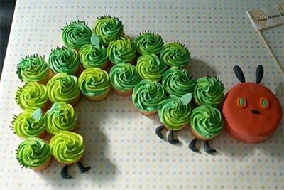 Hungry Caterpillar Baby Shower Theme