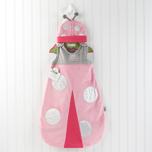 """Snug As a Bug"" Ladybug Snuggle Sack wedding favors"