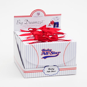 Baby Baseball (Set of 5) in POP Display wedding favors