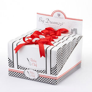 """Big Dreamzzz"" Baby Chef Three Piece Layette in Culinary Themed Gift Box wedding favors"