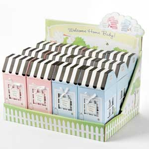 Welcome Home Baby (Set of 12 Asst) in POP Display wedding favors