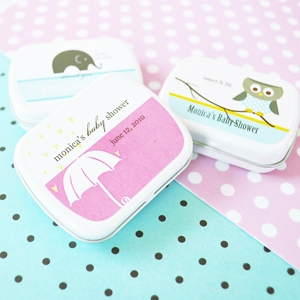 Elite Design Baby Shower Mint Tins wedding favors