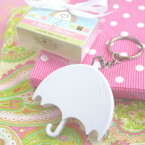 Baby Shower Favors Umbrella ~ Quot a baby shower umbrella tape measure