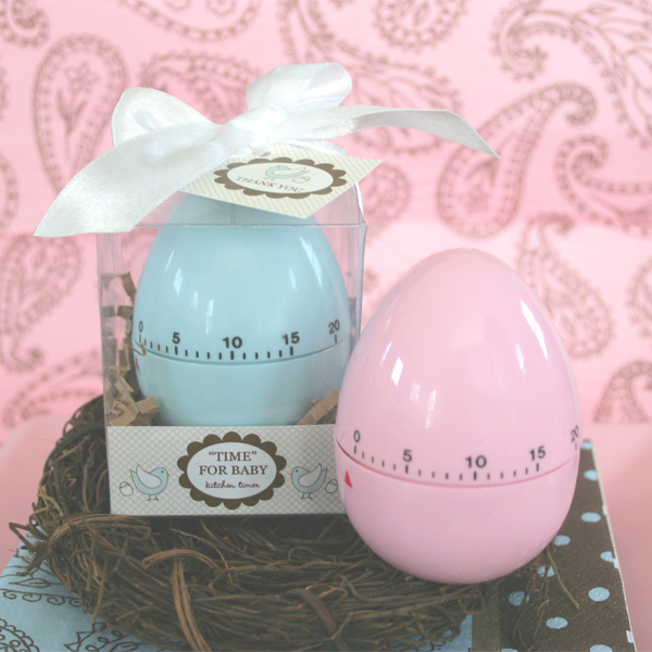 "Baby Showers Gifts For Guests: ""Time For Baby"" Egg Timer"