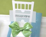 Chair Place Card Boxes baby favors