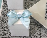 Mini Cube Boxes baby favors