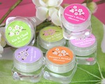 Cherry Blossom Hand Cream baby favors