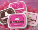 Theme Mint Tins baby favors