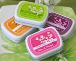 Cherry Blossom Mint Tins baby favors
