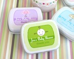 Baby Shower Mint Tins baby favors