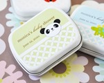 Baby Animals Personalized Mint Tins  baby favors