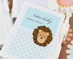 Baby Animals Personalized Notebook Favors  baby favors