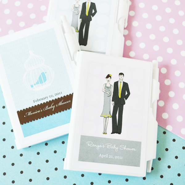 Elite Design Baby Shower Notebook Favors wedding favors