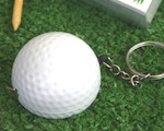 """A Leisurely Game of Love"" Golf Ball Tape Measure baby favors"