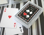 """Two of a Kind"" Playing Cards baby favors"