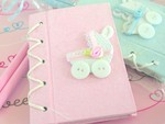 """Thanks for Strolling By!"" Baby Carriage Notebook Gift Set baby favors"