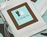 """A Lovely Mix"" Personalized Hot Cocoa with optional whisk baby favors"