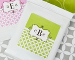 Mod Monogram Personalized Lemonade + Optional Heart Whisk  baby favors