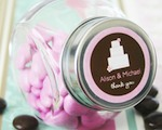 Theme Candy Jars baby favors