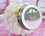 Elite Design Personalized Candy Jars baby favors