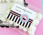 Personalized Jelly Bean Packs - Cupcake Party baby favors