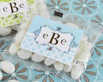 Mod Monogram Jelly Bean Packs  baby favors