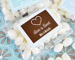 Personalized Theme Jelly Bean Packs  baby favors