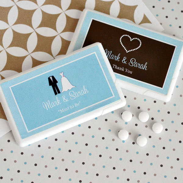 Personalized Theme Mini Mint Favors wedding favors