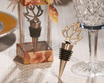 Autumn Themed Wine Bottle Stopper baby favors