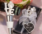 LOVE Themed Bottle Stoppers baby favors