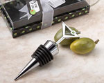 Marvelous Martini Design Wine Bottle Stoppers baby favors