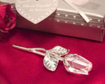 Choice Crystal - Long Stem Rose baby favors