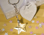 Star Light Crystal Star Keychains baby favors