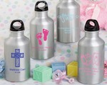 Personalized Metal Water Bottle Favors baby favors