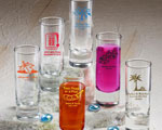 Shooter Glass baby favors