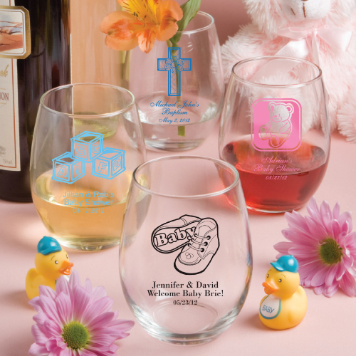 Beautiful Baby Shower Stemless Wine Glass 500 x 500 · 209 kB · jpeg