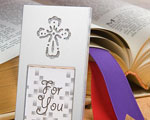 Shining Cross Picture Frame baby favors