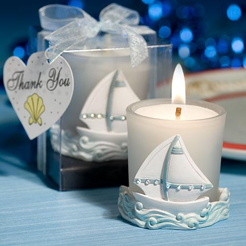 nautical theme baby shower centerpieces